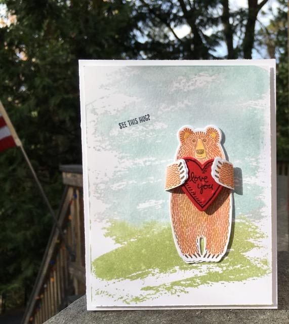 Bear Hugs Stamp Set, Stampin' Up!, 139543