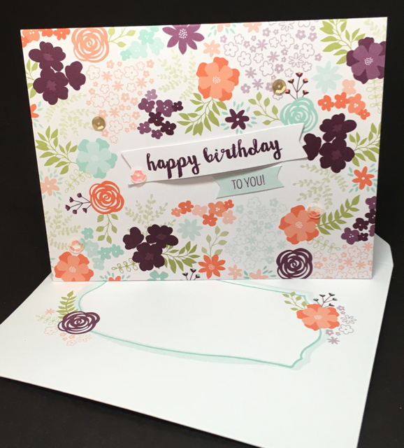 Happy Birthday February Paper Pumpkin Kit