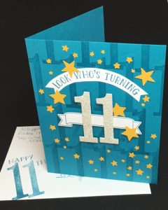 Number of Years Leap Year birthday card (140653)