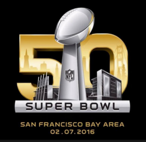 Super Bowl 50 logo, 2-7-16