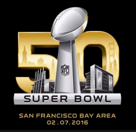 Super Bowl 50 logo, 2-7-16