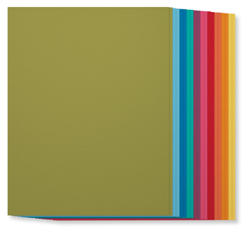 SU! Brights Collection Cardstock, 131190, $7, 20 sheets, 2 each of ten colors