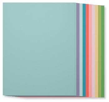 SU! Subtles Collection Cardstock, 131193, $7, 20 sheets, 2 each of ten colors