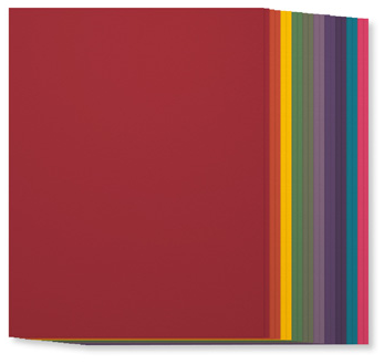 SU! Regals Collection Cardstock, 131192, $7, 20 sheets, 2 each of ten colors