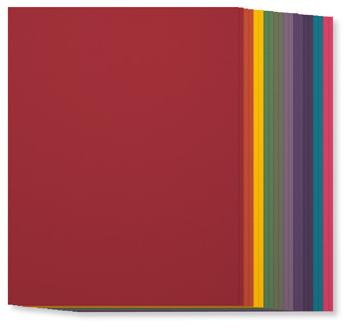 SU! Regals Collection Cardstock, 131192, $7, 20 sheets, 2 each of ten colors