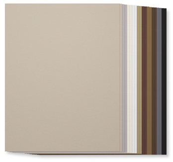 SU! Neutrals Collection Cardstock, 131191, $7, 20 sheets, 2 each of ten colors