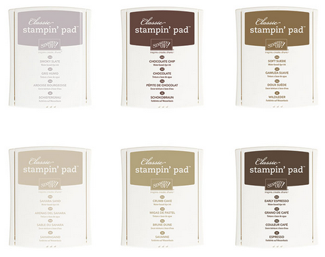 Neutrals Collection Stampin' Pads, 140933, $32.50