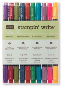 Regals Stampin' Write Markers, 131262, $29/10 markers