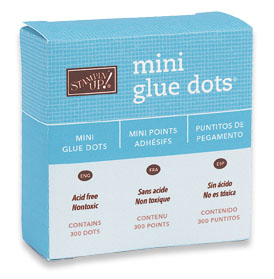 Mini Glue Dots, 103683, $5.25, 300 dots