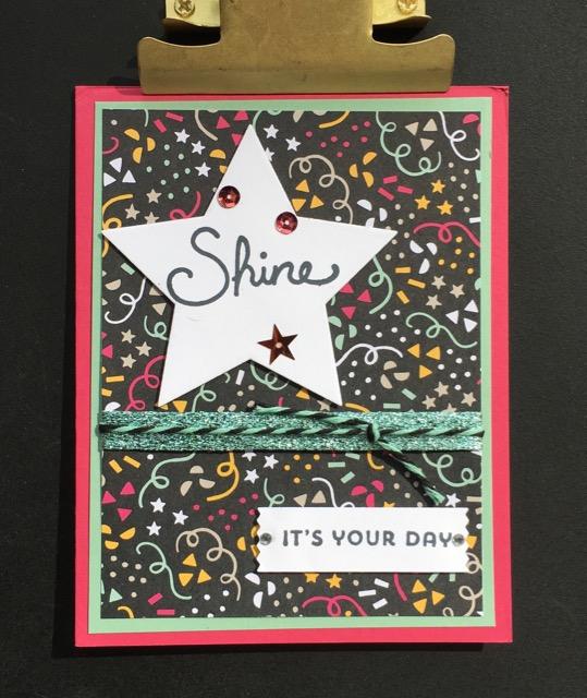 Sunburst Sayings birthday card (140722-w; 140725-c)