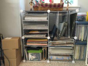 Designer Series Paper Storage idea
