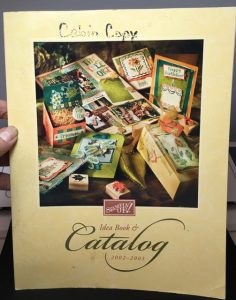 Stampin Up! 2002-2003 Idea Book and Catalog