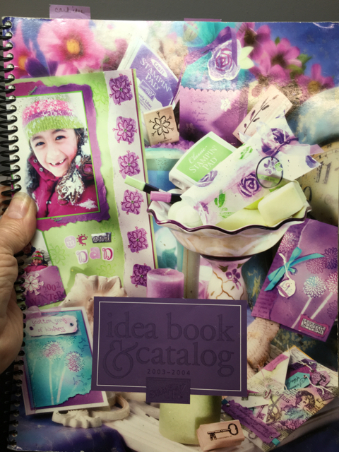 Stampin Up! 2003-2004 Idea Book and Catalog
