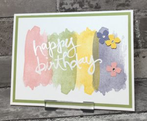 Spring Quick & Simple birthday card
