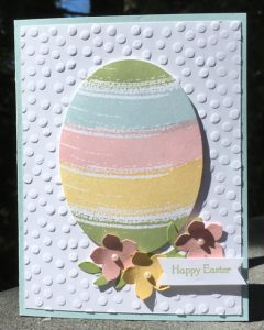 Soft Sky + Work of Art Easter Egg card