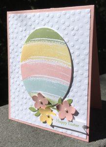 Blushing Bride + Work of Art Easter Egg card