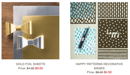 Stampin' Up!'s Weekly Deals March 15-21, 2016