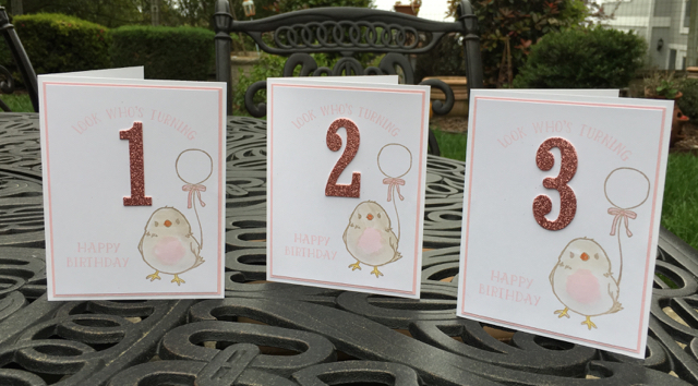 LIttle Girl Card: Number of Years & Honeycomb Happiness