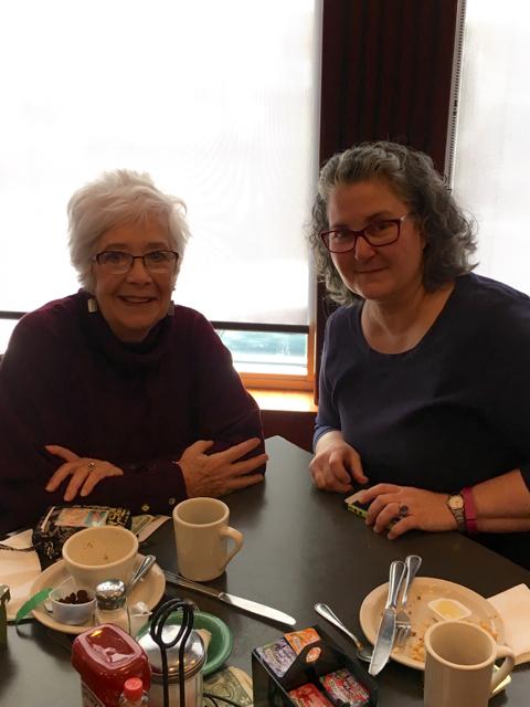 Blythe & Sara, Nazareth PA Diner