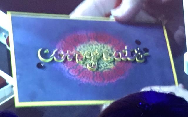 Sara's MoroccanNights congratulations card