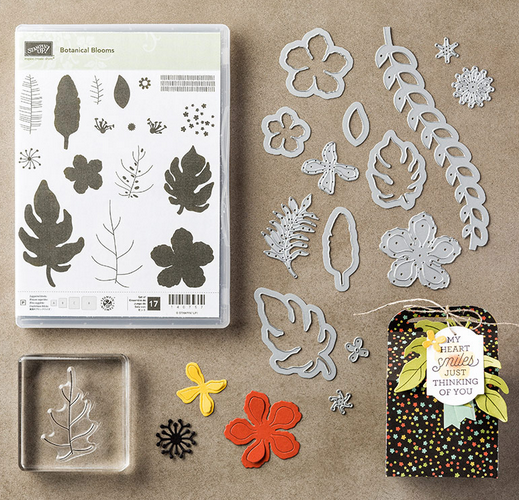 Botanical Blooms Bundle, 140819