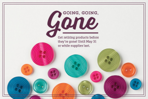 2016 Stampin' Up! Retiring Products
