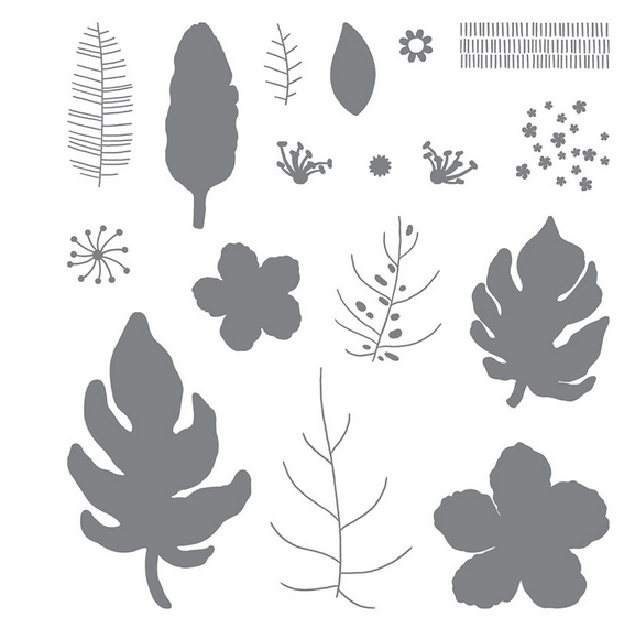 Botanical Blooms Stamp set (140757)