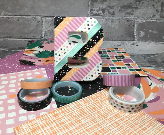 Playful Palette Washi B + Washi Tape + Designer Series Paper Stack