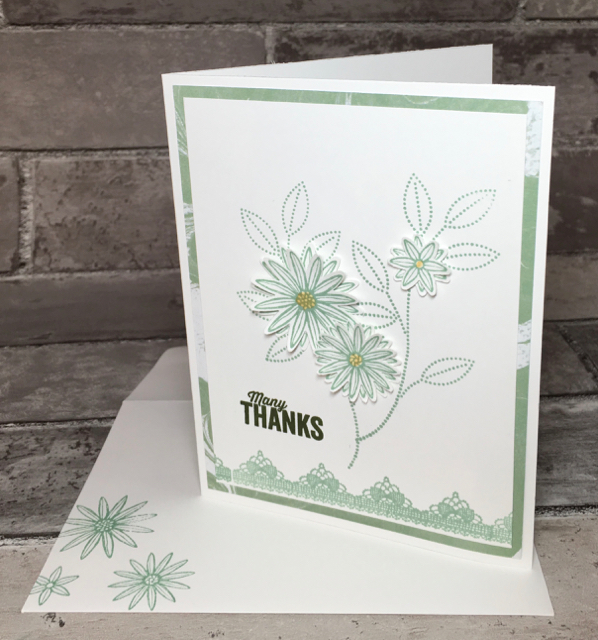Grateful Bunch thank you card