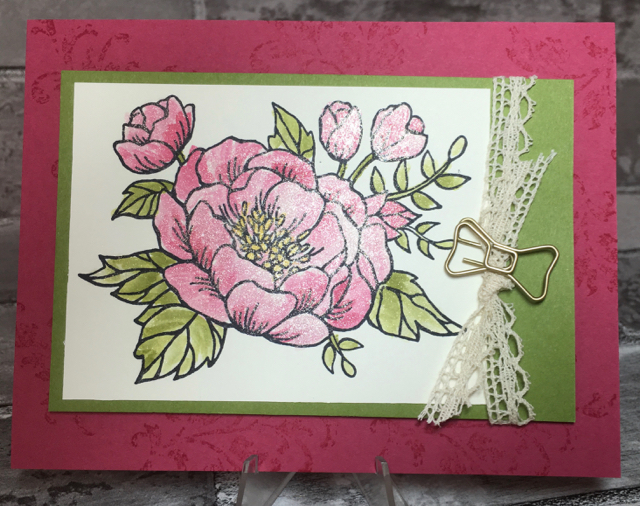 Close up of the shaker part of a shaker card