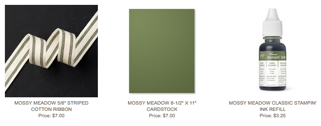 Mossy Meadow Suite of Products
