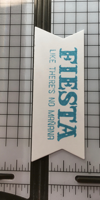 STAMPIN' TRIMMER - FIESTA