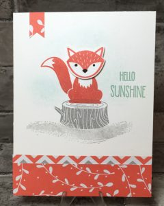 Foxy Sample for Library 6-16