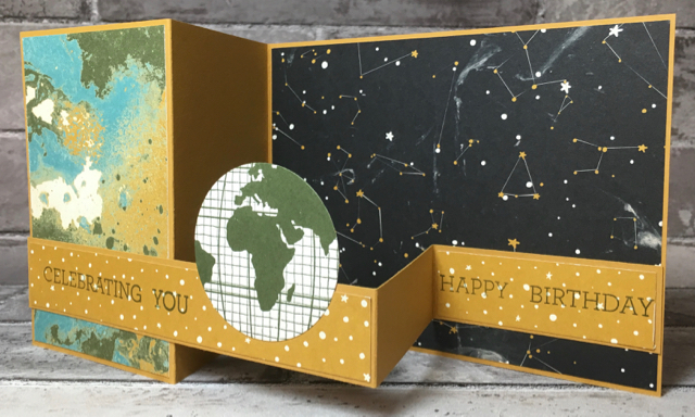 GOING GLOBAL BIRTHDAY CARD