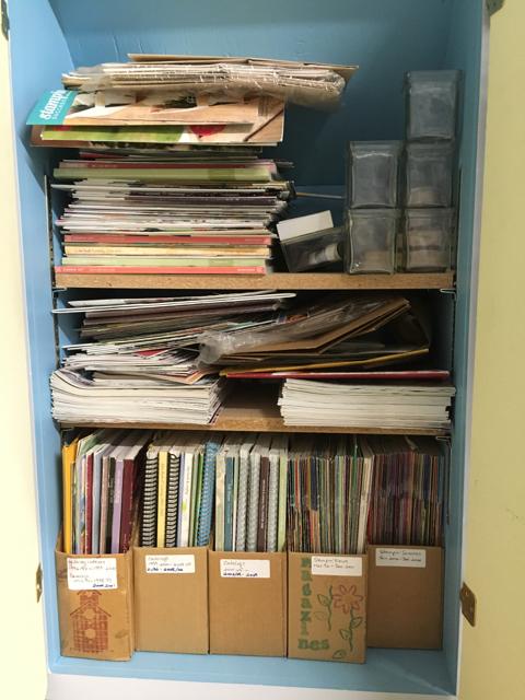 Entire SU! publication cupboard