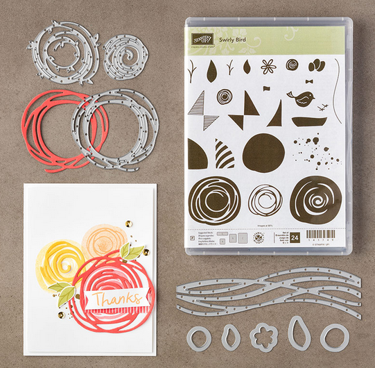 Swirly Bird Bundle, 142353
