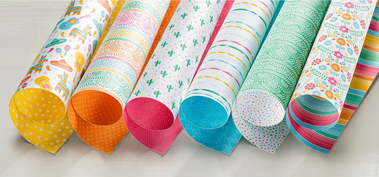 Festive Birthday Designer Series Paper, 141630