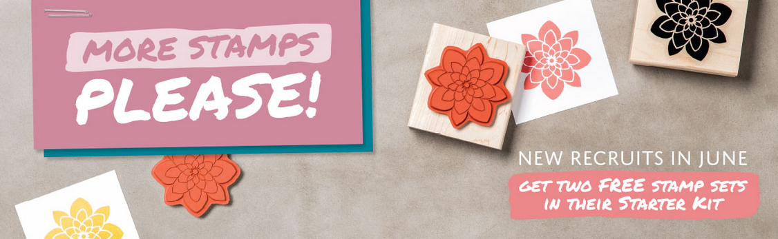 June 2016 recruiting special from Stampin' Up!