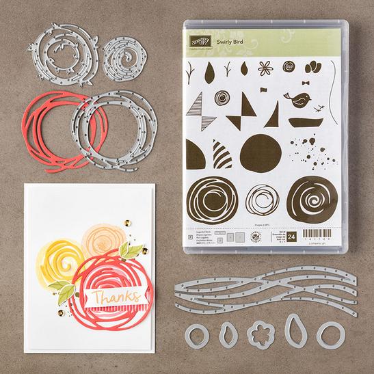 Swirly Birds Bundle, 142353