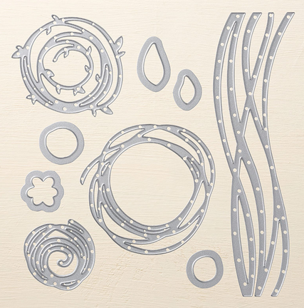 Swirly Scribbles Thinlits Dies, 141497