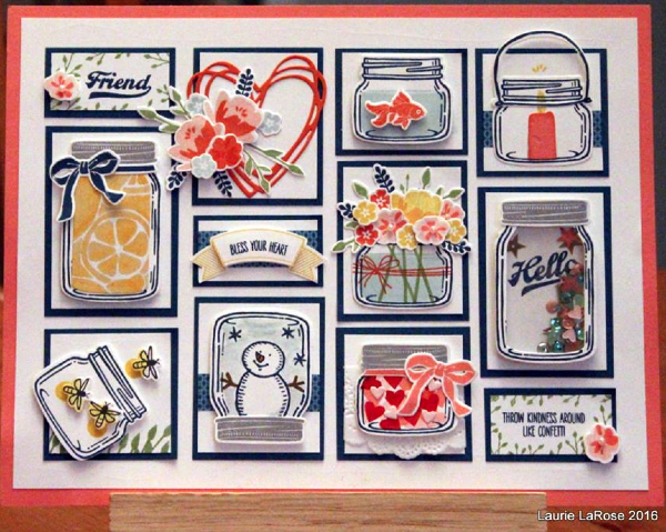 Laurie LaRose's awesome Jar of Love display