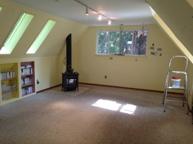 Stampin' Studio empty and ready for revamp