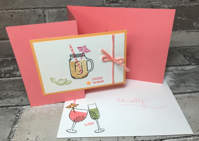 Christy's 40th birthday card, with envelope, 141928