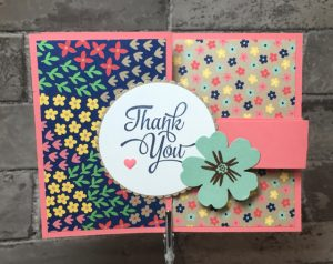 Affectionately Yours Thank You card