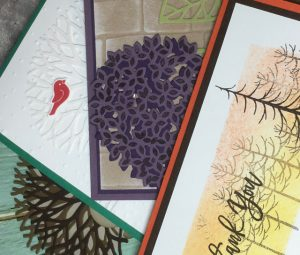 Blythe's Thoughtful Branches August card class