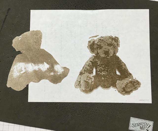 Preparing to mask the bear image