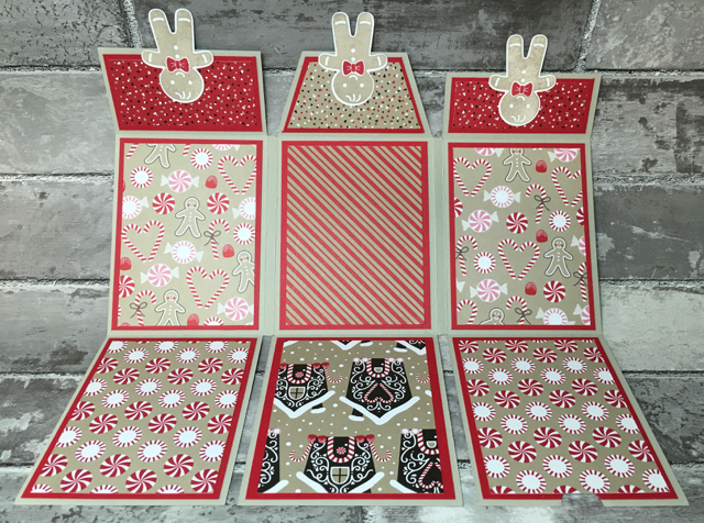 Candy Cane Lane Designer Series Paper Mini Book