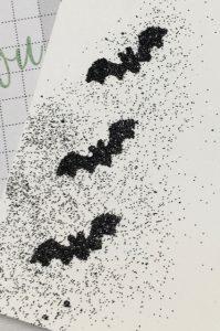 Also used--Black Blast glitter