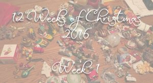 Twelve Weeks of Christmas Banner