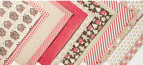 Candy Cane Lane Designer Series Paper, 141981
